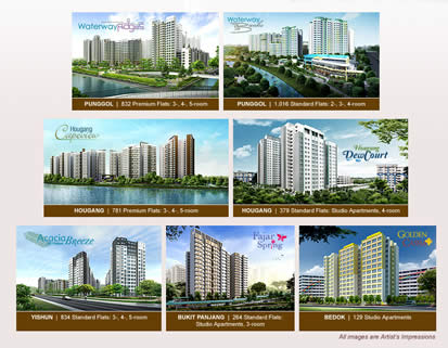 HDB Launches Nov 2011 BTO With Seven Projects