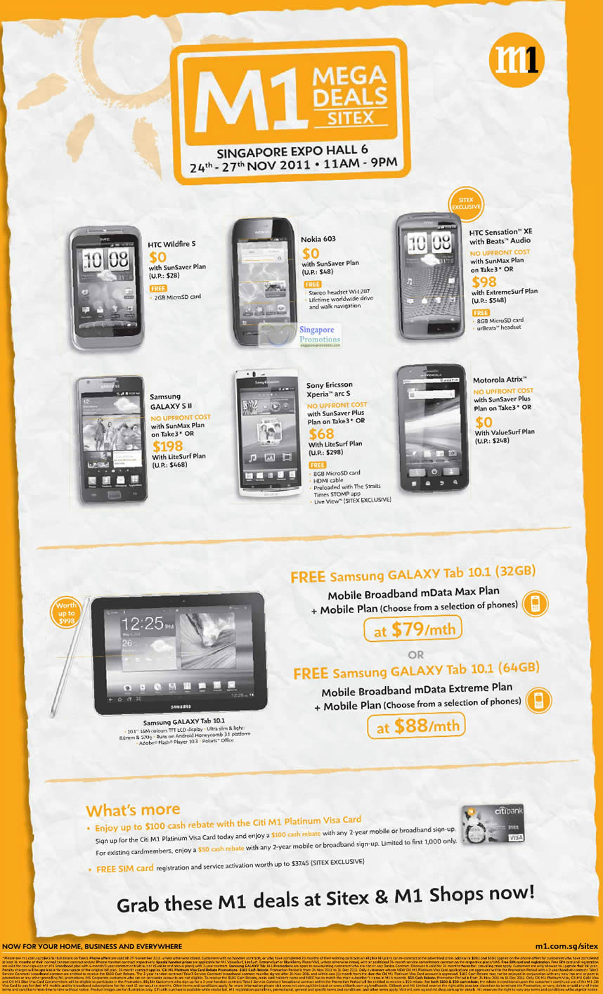 HTC Wildfire S, Nokia 603, HTC Sensation XE, Samsung Galaxy S II, Sony Ericsson Xperia Arc S, Motorola Atrix