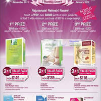Read more about Hi-Beau Avalon & ChocoMarvel Special Offers @ Great Health & Beauty Bonanza 1 Nov 2011 - 31 Jan 2012
