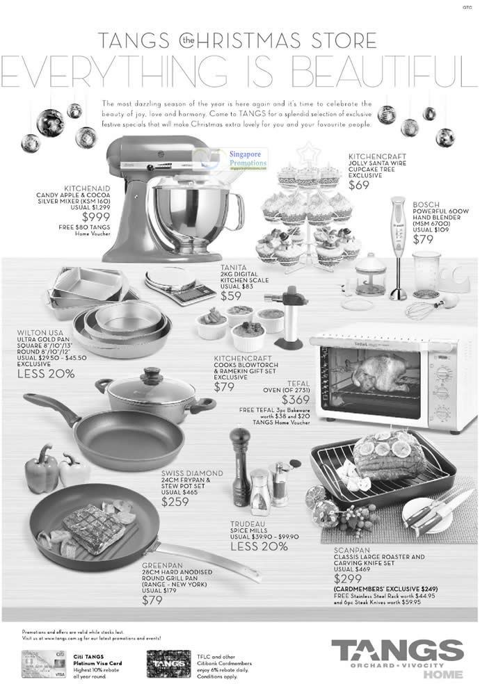 Kitchenware items