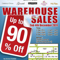 Read more about L.D. Waxon (Ginvera, Bio-Essence, etc) Warehouse Sale Up To 90% Off 2 - 4 Dec 2011