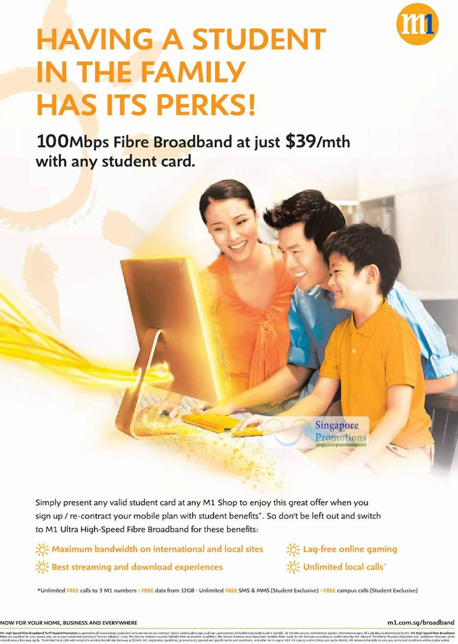 Student 100Mbps Fibre Broadband