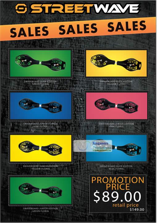 Swaveboard Elite Junior Edition 4