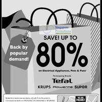 Read more about Tefal, Krups, Rowenta & Supor Warehouse Sale 10 - 11 Nov 2011