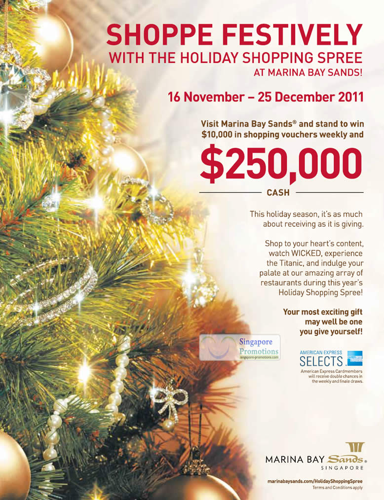 Win $10,000 Shopping Vouchers Weekly