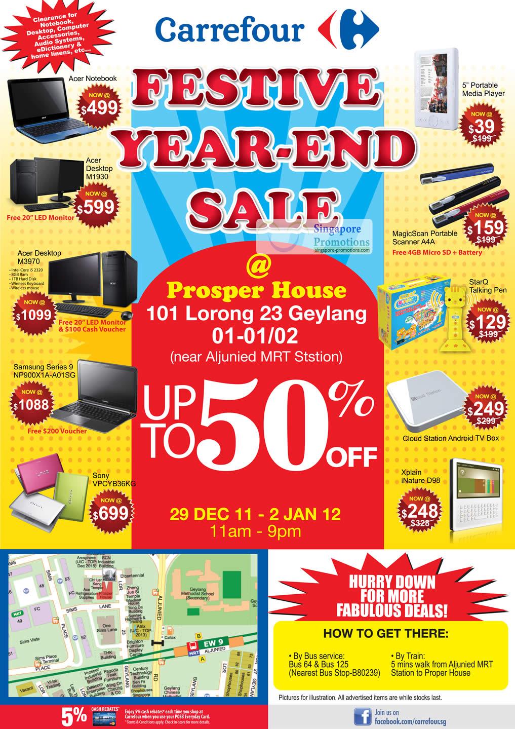 Acer Desktop M1930, Acer Desktop M3970, MagicScan Portable Scanner A4A, StarQ Talking Pen, Sony VPCYB36KG Notebook, Xplain iNature D98