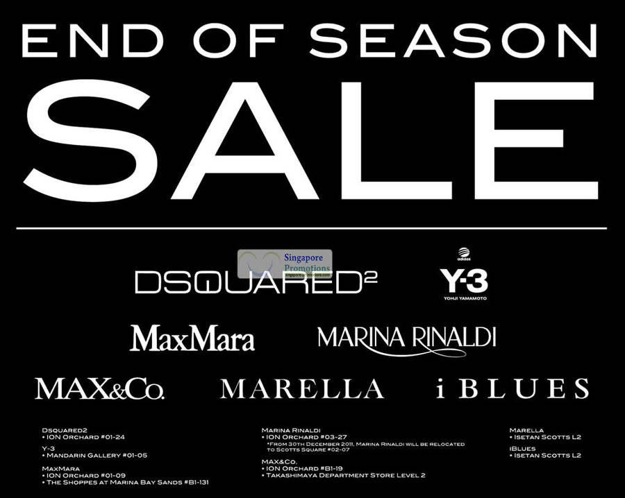 9 Dec Y-3 End Of Season Sale