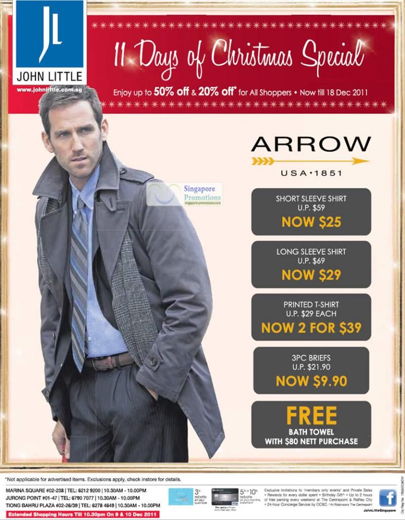 Arrow Shirt, T-Shirt, Briefs