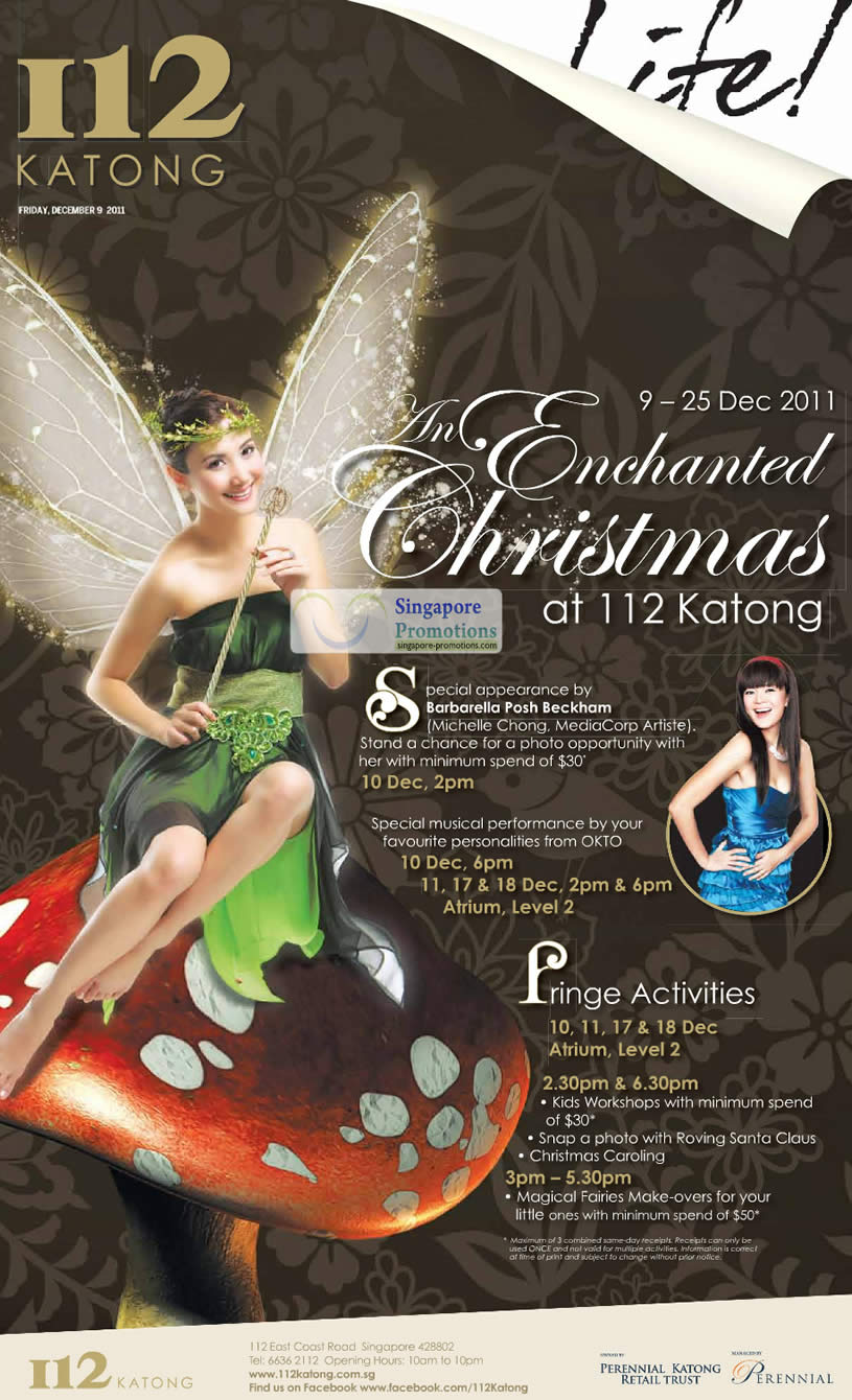 Barbarella Posh Beckham, Okto, Magical Fairies, Workshops