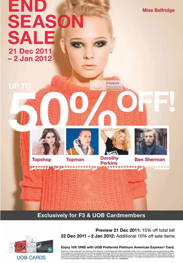 Fashion Fast Forward 21 Dec 2011
