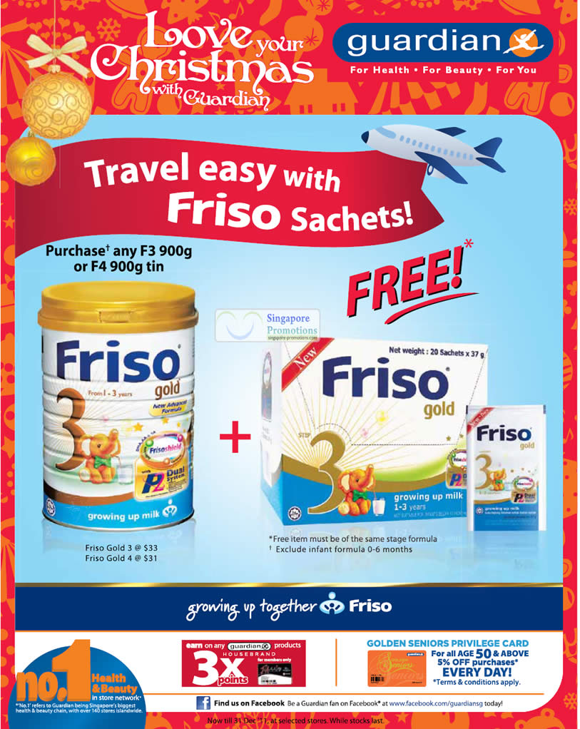 Friso Gold Free Sachets Promotion
