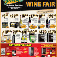 Read more about Giant Hypermarket Wine Fair @ VivoCity 16 - 26 Dec 2011
