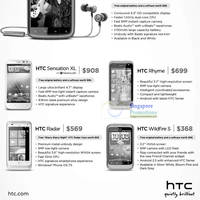 Read more about HTC Smartphones Mobile Phones No Contract Price List 10 - 31 Dec 2011