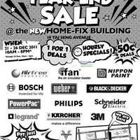 Read more about Home-Fix DIY Store Year End Sale 21 - 26 Dec 2011