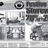 Read more about Natural Living & Barang Barang Storewide Sale Up To 40% Off 24 Dec 2011