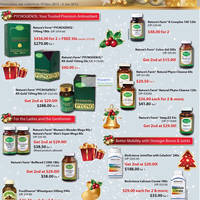 Read more about Nature's Farm Christmas Promotion Specials 19 Dec 2011 - 2 Jan 2012