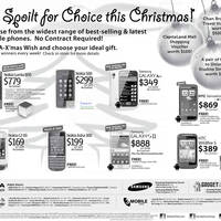 Read more about Samsung, Nokia & HTC Smartphones No Contract Price List 10 Dec 2011