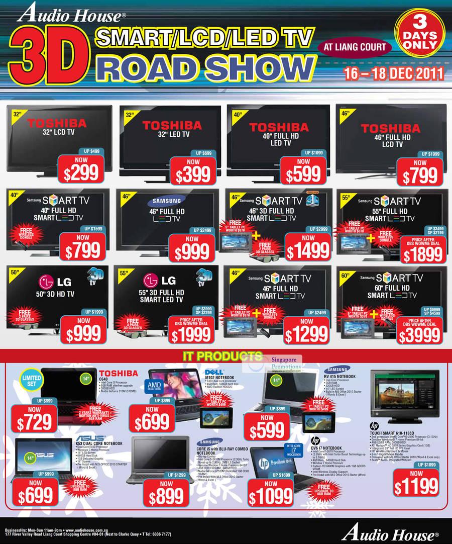 Toshiba C640 Notebook, Dell M102 Notebook, Samsung Rv415 Notebook, Hp Touchsmart 610-1138d Desktop Pc, Hp Dv6 17 Notebook, Asus K53 Notebook,
