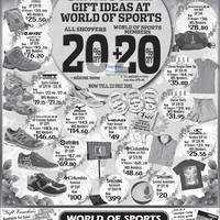 Read more about World of Sports 20% Off Selected Items 9 - 22 Dec 2011