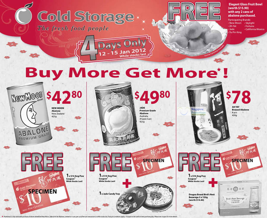 Cold Storage 12 Jan 2012