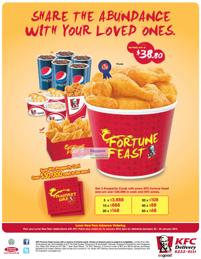 Fast Food Party Deals