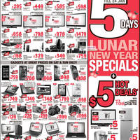Read more about Courts 5 Days Lunar New Year Specials 20 - 24 Jan 2012