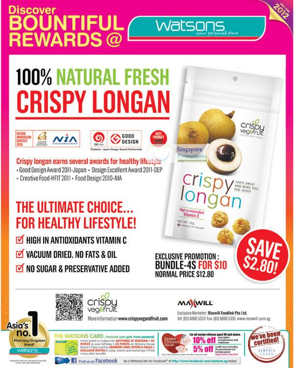 Natural Fresh CRISPY LONGAN