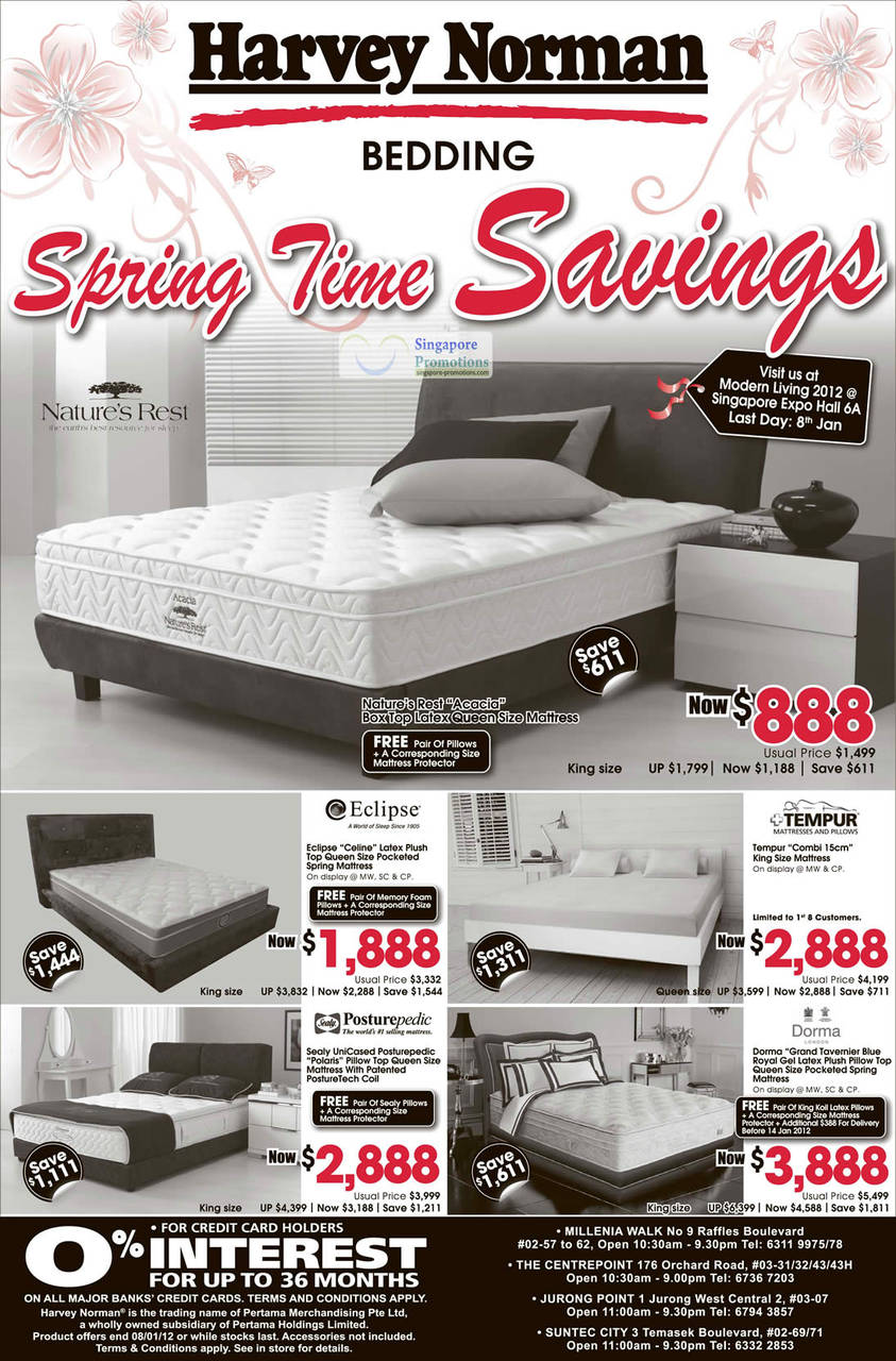 Natures Rest Acadia Mattress, Eclipse Celine Mattress, Sealy Unicased Posturepedic Mattress, Tempur Combi Mattress, Dorma Grand Tavernier Mattress