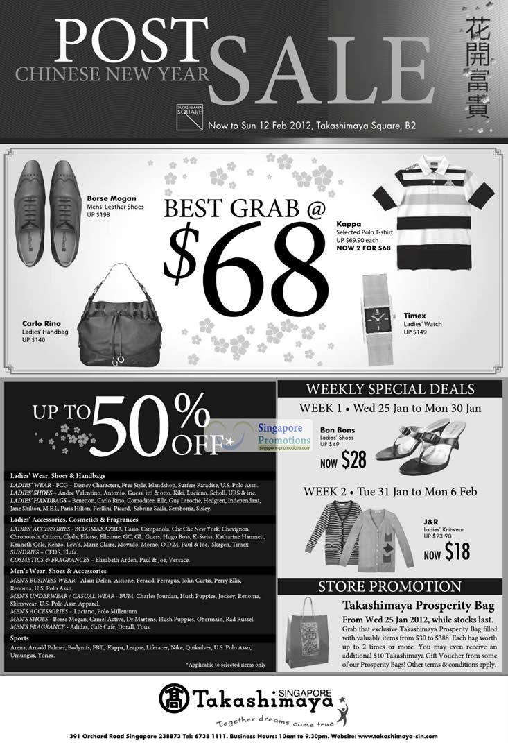 Ladies Wear, Shoes, Handbags & Accessories, Mens Wear, Shoes & Accessories
