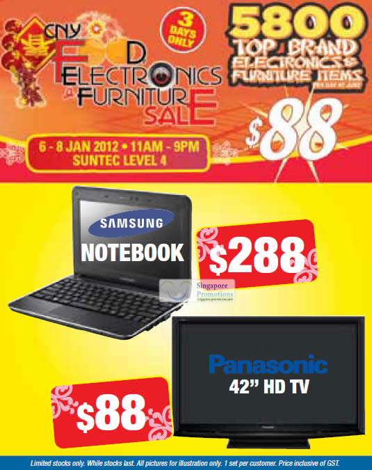 Samsung Netbook, Panasonic 42 HD TV