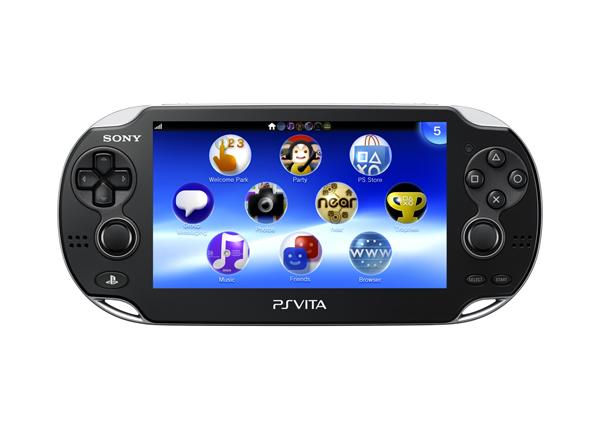Sony PlayStation Vita Front