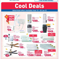 Read more about NTUC Fairprice Electronics, Appliances, Abalone & Kitchenware Offers 12 Jan - 1 Feb 2012
