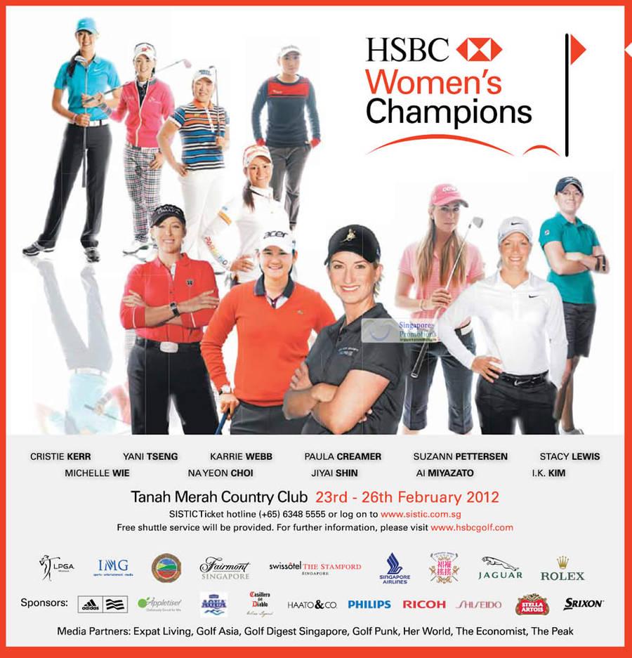Event Details, Women Champions