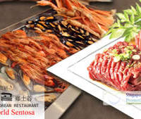 Read more about Hyang-To-Gol 32% Off Korean Charcoal BBQ Dinner Buffet @ Resorts World Sentosa 26 Aug 2012