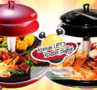 Read more about Korean UFO Roaster Buffet 47% Off Korean UFO BBQ, Ginseng Steamboat Buffet, Chili Crab & More 4 Jul 2012