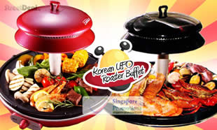 Korean UFO Roaster Buffet 2 Feb 2012