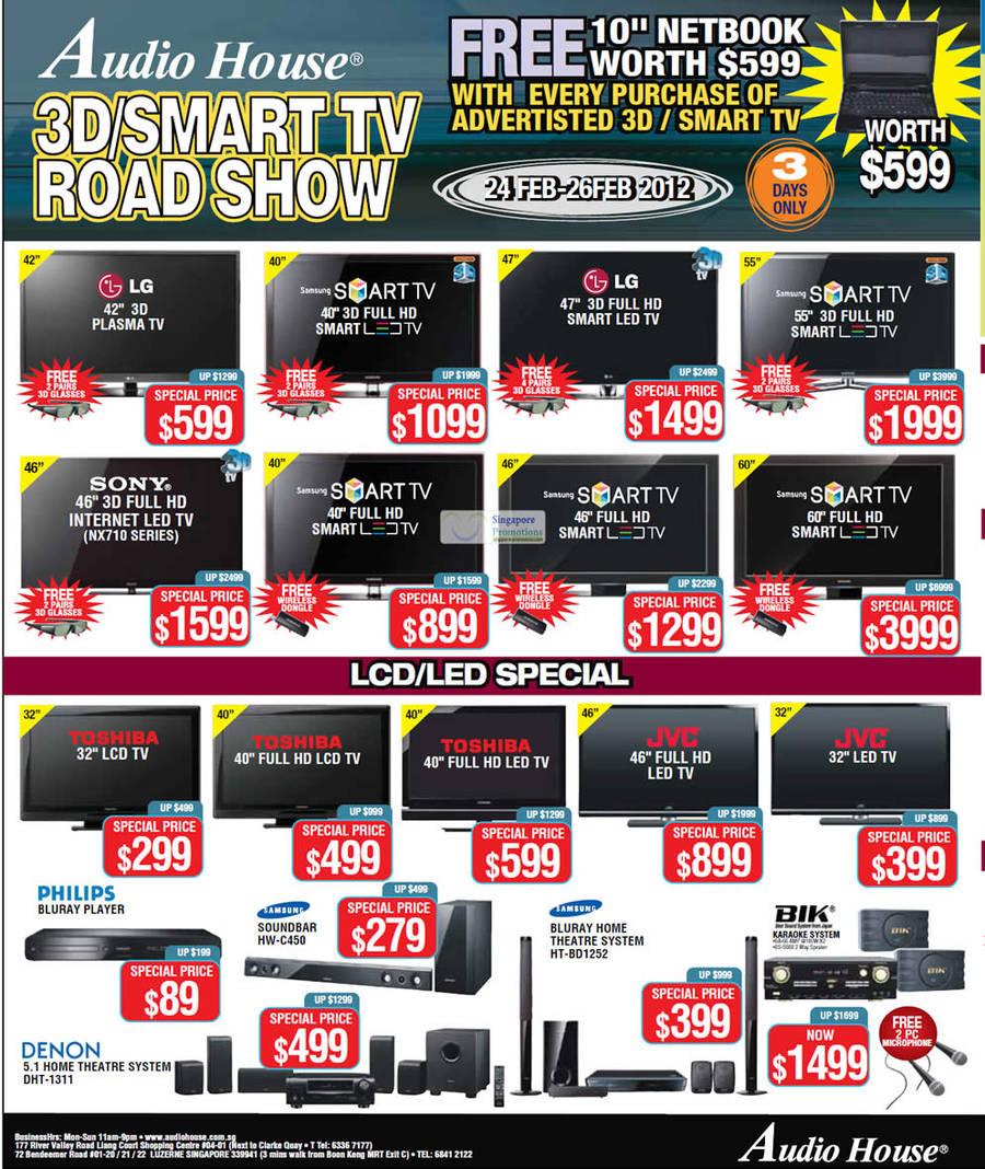 Samsung SOUNDBAR HW-C450, Samsung BLU RAY HOME THEATRE SYSTEM HT-BD1252