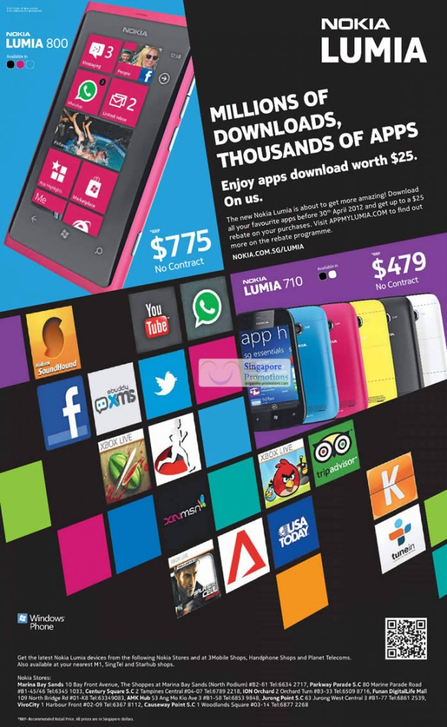 Nokia Lumia 800, Nokia Lumia 710