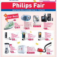 Read more about NTUC Fairprice Philips Electronics, Appliances, Kitchenware & More Offers 2 - 15 Feb 2012