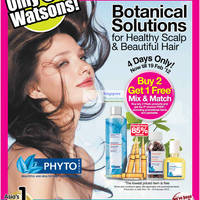 Read more about Watsons Cosmetics, Personal Care & Beauty Offers 16 - 22 Feb 2012