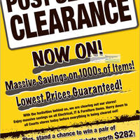 Read more about Courts Post Season Clearance Promotion 4 - 10 Feb 2012