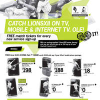Read more about Starhub Smartphones, Cable TV & Mobile/Home Broadband Offers 18 - 24 Feb 2012