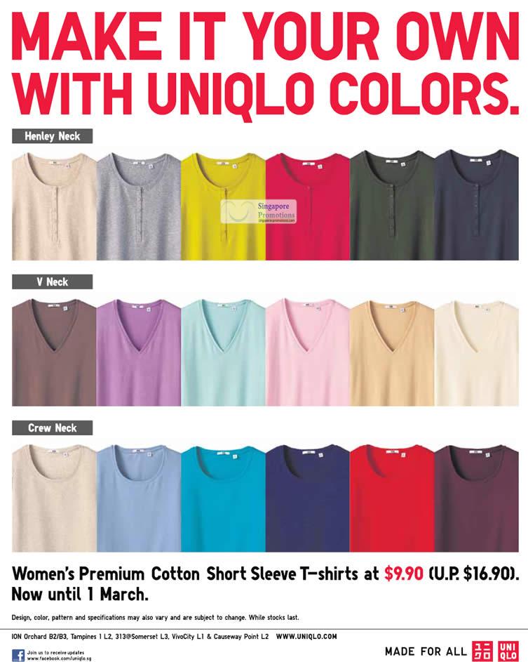 Woman Premium Cotton Short Sleeve T-Shirt