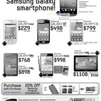 Read more about 3Mobile Samsung Smartphones No Contract Price List 3 Mar 2012