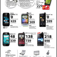 Read more about 3Mobile Nokia, HTC & Sony Smartphones No Contract Price List 31 Mar 2012
