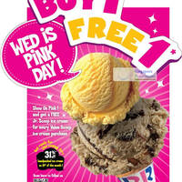 Read more about Baskin-Robbins FREE Junior Scoop With Every Value Scoop (Wed) From 7 Mar 2012