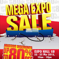 Read more about Carrefour Mega Expo Sale 2012 (Mar 2012) @ Singapore Expo 22 - 25 Mar 2012