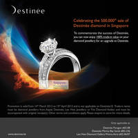 Read more about Destinee 100% Trade-In Value Promotion 14 Mar - 15 Apr 2012