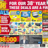 Read more about Courts 38th Anniversary Sale 31 Mar - 6 Apr 2012