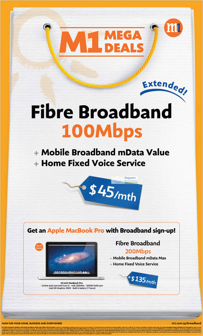 Fibre Broadband, Apple MacBook Pro
